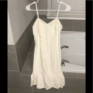 Size Small white dress perfect for wedding events!